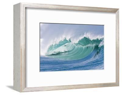 Breaking Wave in Hawaii-Ron Dahlquist-Framed Photographic Print