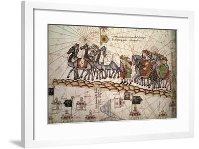 The Silk Road Crossed by Marco Polo--Framed Photographic Print