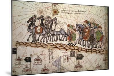 The Silk Road Crossed by Marco Polo--Mounted Photographic Print