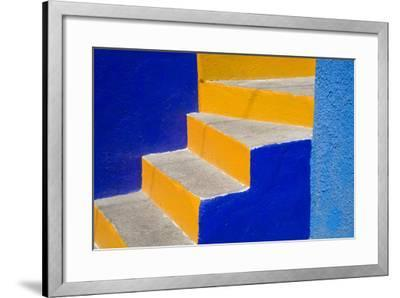 Colorful Stairs-Julie Eggers-Framed Photographic Print