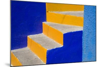 Colorful Stairs-Julie Eggers-Mounted Photographic Print