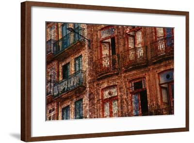 Old Building in Porto, Portugal--Framed Photographic Print