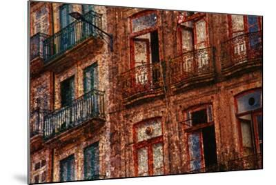 Old Building in Porto, Portugal--Mounted Photographic Print