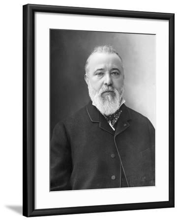 Portrait of Zenobe Gramme-Nadar-Framed Photographic Print