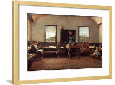 Winslow Homer: the Country School--Framed Photographic Print