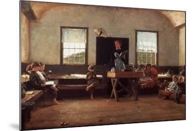 Winslow Homer: the Country School--Mounted Photographic Print