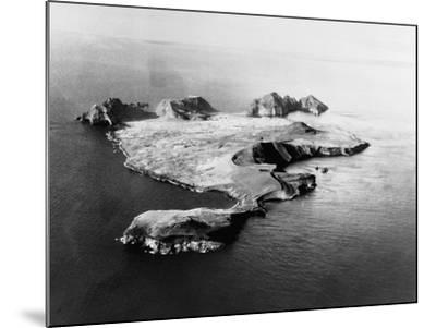 Island of Heimaey--Mounted Photographic Print