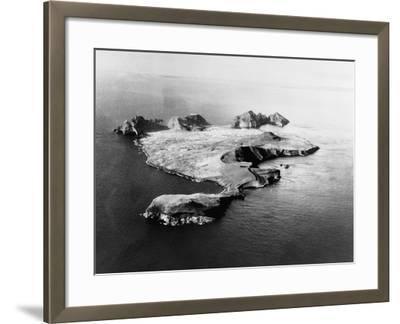 Island of Heimaey--Framed Photographic Print