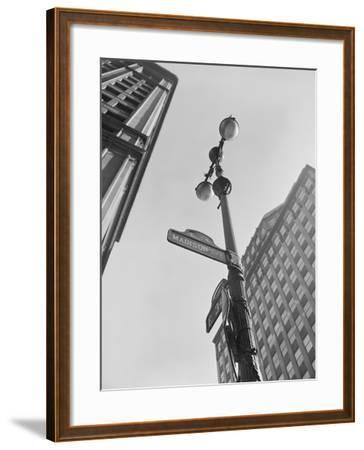 View of Madison Avenue in New York City-Philip Gendreau-Framed Photographic Print
