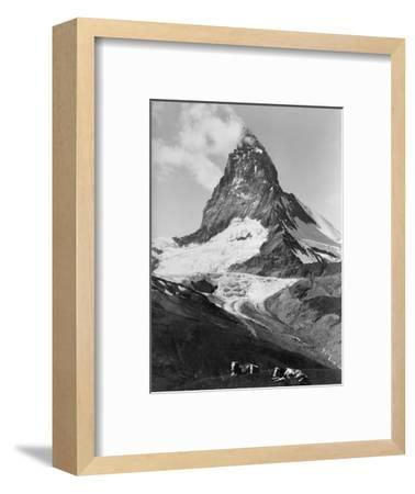 View of the Matterhorn-Philip Gendreau-Framed Photographic Print