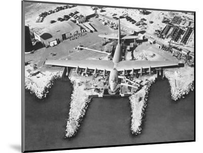 Spruce Goose Cruising--Mounted Photographic Print