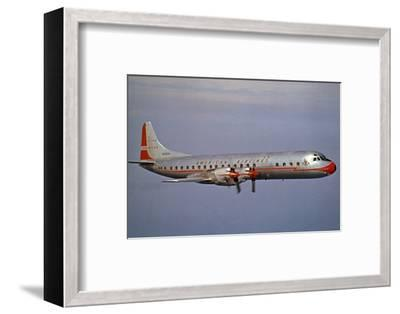 American Airlines Lockheed Electra Turbo-Prop 1966--Framed Photographic Print