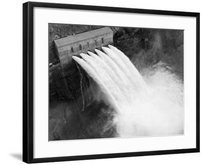 Irrigation Valves at Boulder Dam--Framed Photographic Print