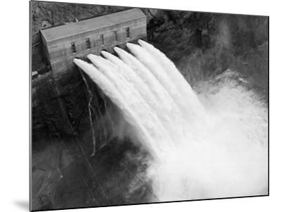 Irrigation Valves at Boulder Dam--Mounted Photographic Print