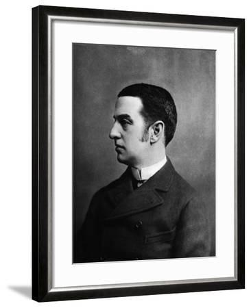 Cornelius Vanderbilt II--Framed Photographic Print