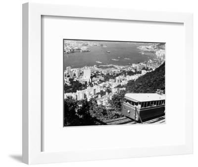 Peak Train with Hong Kong in Foreground-Philip Gendreau-Framed Photographic Print