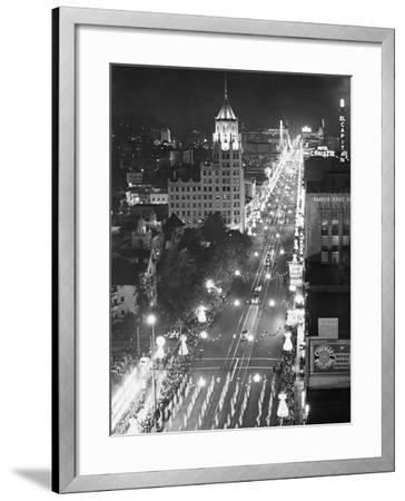 Hollywood Boulevard-Philip Gendreau-Framed Photographic Print