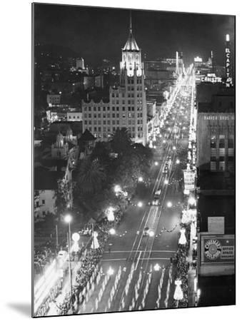 Hollywood Boulevard-Philip Gendreau-Mounted Photographic Print