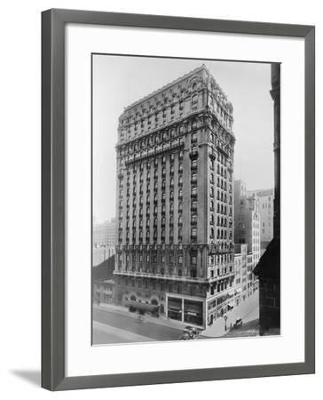 View of St Regis Hotel in NYC-Irving Underhill-Framed Photographic Print
