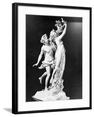 Apollo and Daphne by Gian Lorenzo Bernini--Framed Photographic Print