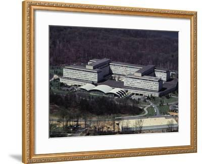 Aerial View of CIA Building--Framed Photographic Print