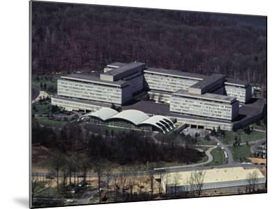 Aerial View of CIA Building--Mounted Photographic Print
