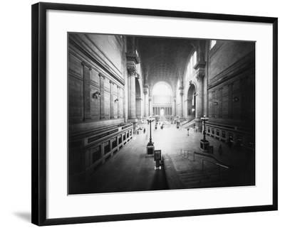 Interior of Pennsylvania Station-Philip Gendreau-Framed Photographic Print