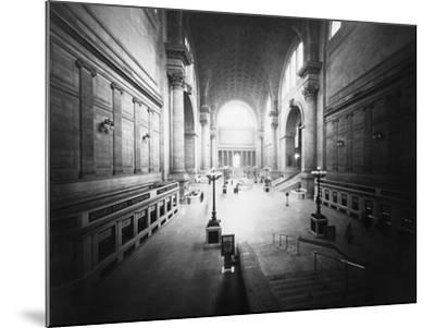 Interior of Pennsylvania Station-Philip Gendreau-Mounted Photographic Print