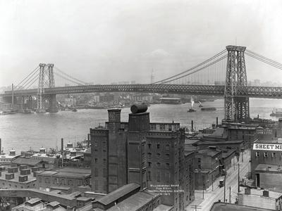 Williamsburg Bridge--Framed Photographic Print