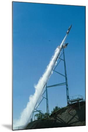 Evel Knievel's Rocket Launching--Mounted Photographic Print