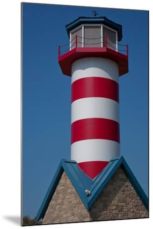 Grafton Illinois Red and White Striped Lighthouse-Joseph Sohm-Mounted Photographic Print