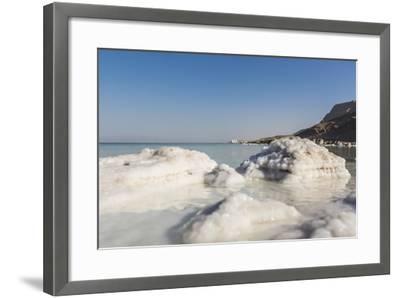 Dead Sea - Salt Deposits-Massimo Borchi-Framed Photographic Print