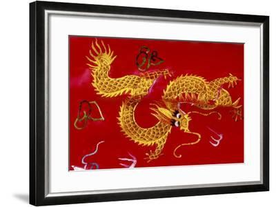 Chinese Dragon, Shenzen, China-Dallas and John Heaton-Framed Photographic Print