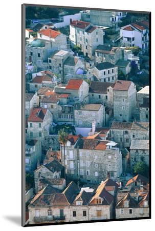 Hvar in Croatia-Peter Adams-Mounted Photographic Print