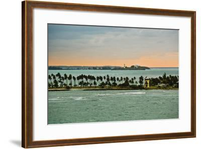 Sra and Old San Juan in Distance, Puerto Rico-Massimo Borchi-Framed Photographic Print
