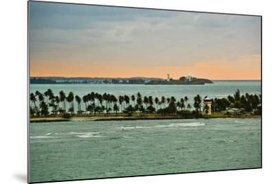 Sra and Old San Juan in Distance, Puerto Rico-Massimo Borchi-Mounted Photographic Print