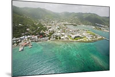 Road Town on Tortola in British Virgin Islands-Macduff Everton-Mounted Photographic Print