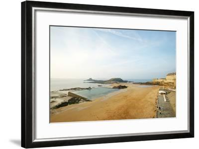 Old Town, St. Malo, France-Stefano Amantini-Framed Photographic Print