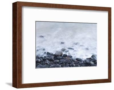 Pebbles on Playa Blanca, Lanzarote, Yaiza, Spain-Guido Cozzi-Framed Photographic Print