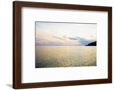 Seascape at Dusk, Guardia Piemontese, Calabria, Italy-Stefano Amantini-Framed Photographic Print