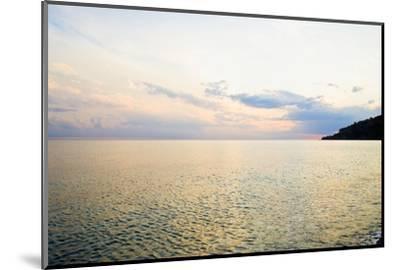 Seascape at Dusk, Guardia Piemontese, Calabria, Italy-Stefano Amantini-Mounted Photographic Print