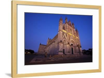 Cathedral of Orvieto-Terry Eggers-Framed Photographic Print