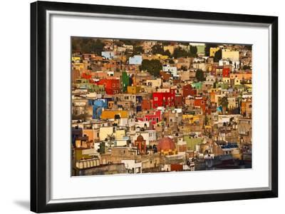 Hillside View of Guanajuato-Craig Lovell-Framed Photographic Print
