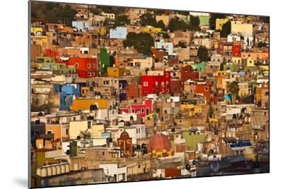 Hillside View of Guanajuato-Craig Lovell-Mounted Photographic Print