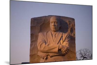 Martin Luther King Jr. National Memorial, a Monument to Civil Rights Leader, Washington, D.C.-Joseph Sohm-Mounted Photographic Print