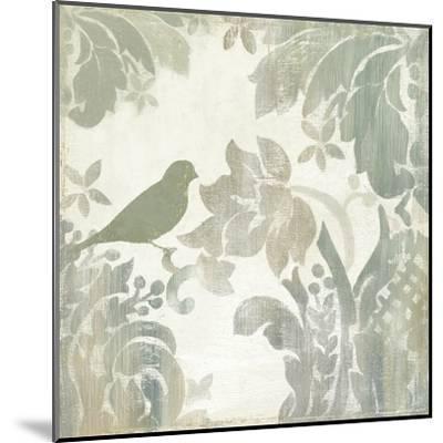 Damask Bird I-Asia Jensen-Mounted Art Print