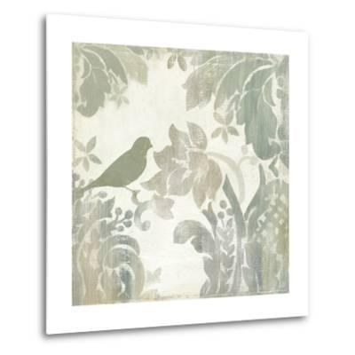 Damask Bird I-Asia Jensen-Metal Print