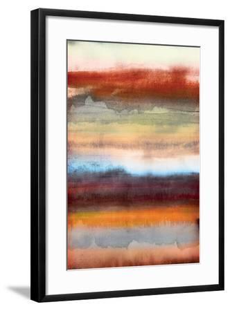 Tribal Colour Wash II-PI Studio-Framed Art Print