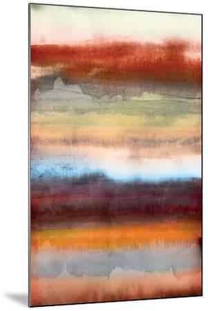 Tribal Colour Wash II-PI Studio-Mounted Art Print