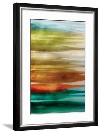 Sideways-PI Studio-Framed Art Print